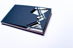 Handmade Notebook - Black Diego-1
