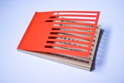 Handmade Notebook - Orange Nicky-3