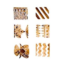 Watercolour Brown Patterns