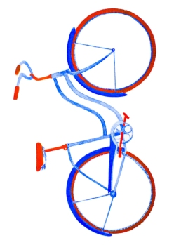 Bicycle Watercolour #2