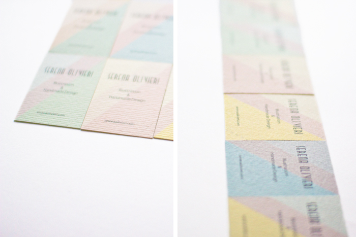 Business Cards by Serena Olivieri