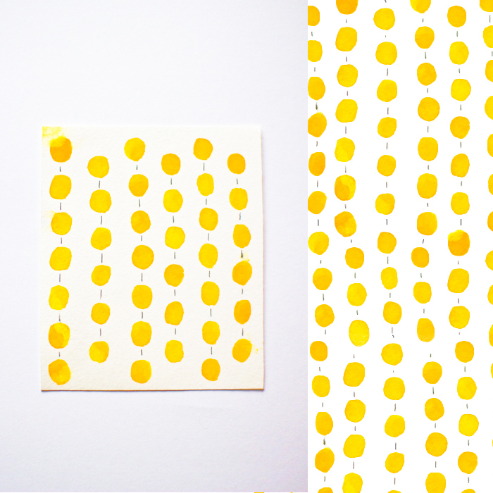 Yellos Happy Pattern by Serena Olivieri