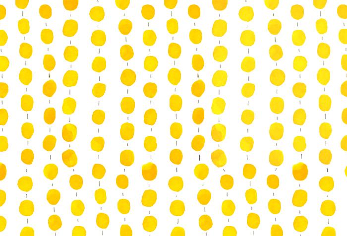 Yellow Happy Pattern Serena Olivieri