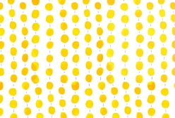 Yellow Happy Pattern by Serena Olivieri