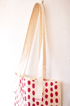 Red Spots Tote 9