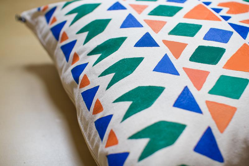 Handmade Pillow by Serena Olivieri