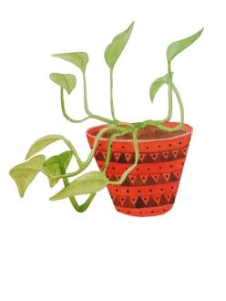 Red Vase by Serena Olivieri