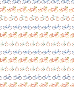 Bicycle Pattern by Serena Olivieri